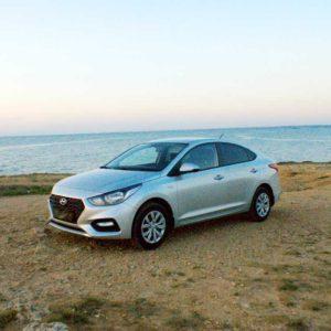 Hyundai Solaris II 2018 в аренду по Крыму