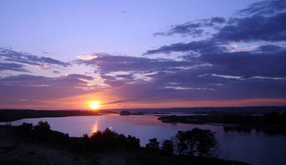 Вечернее Айгульское озеро