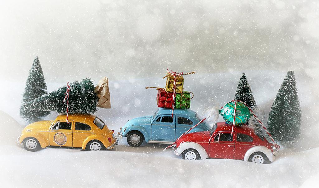 Акция по аренде авто на новогодние праздники